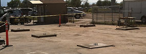 Commercial concrete footings