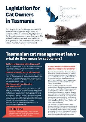 5435 sheet 3 - Legislation for Cat Owner