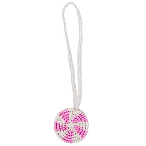 Pink Fan Candy Charm
