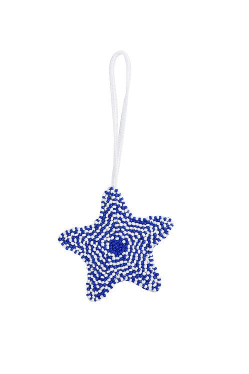 Starfish Charm - Blue