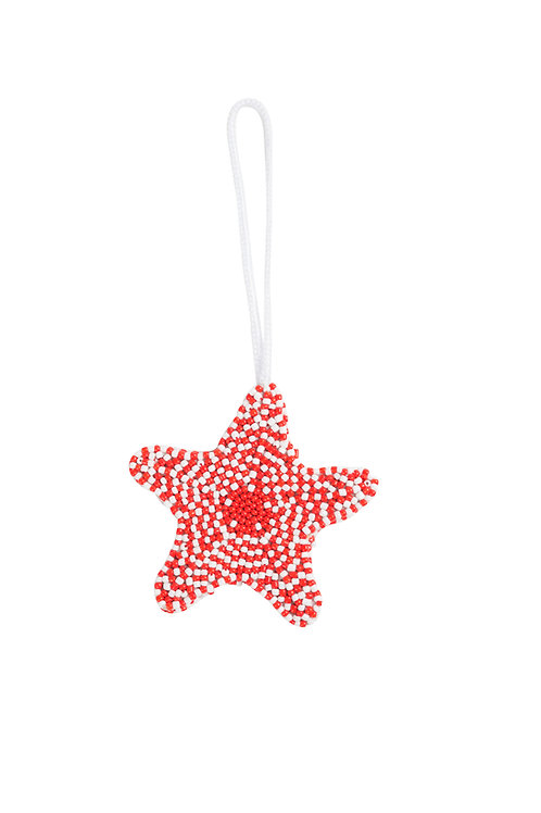 Starfish Charm - Red