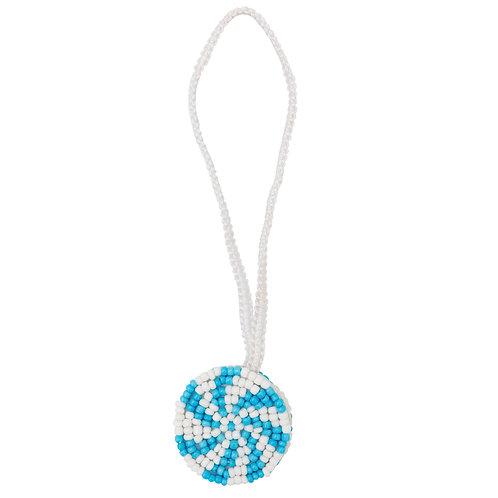 Blue Fan Candy Charm
