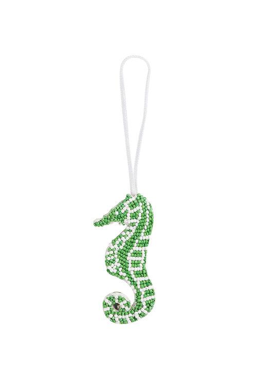 Seahorse Charm - Green
