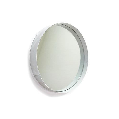 Circular White Mirror