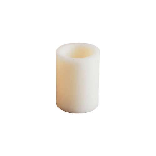 Small Faux Pillar Candles - Set of 2