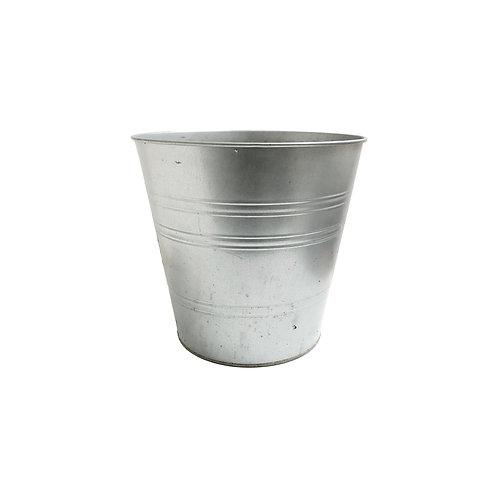 Large Galvanized Planter