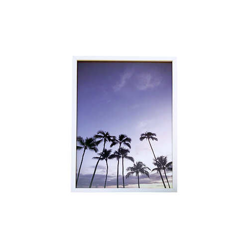Framed Palm Print by Max Wanger - 17x25