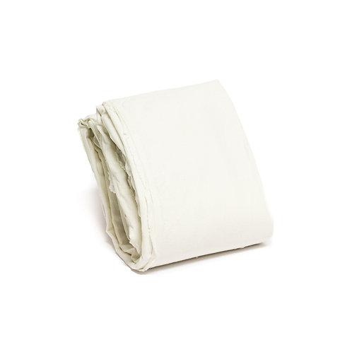 Cream Linen Duvet Set - Full/Queen