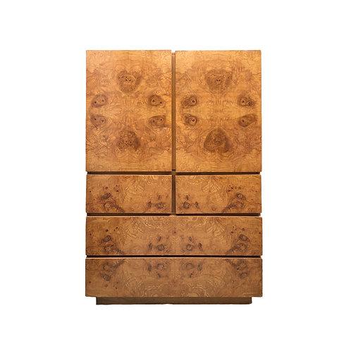 Milo Baughman for Lane Burl Wood Dresser