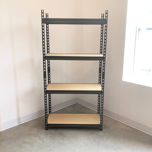 Small Metal Storage Shelving Unit