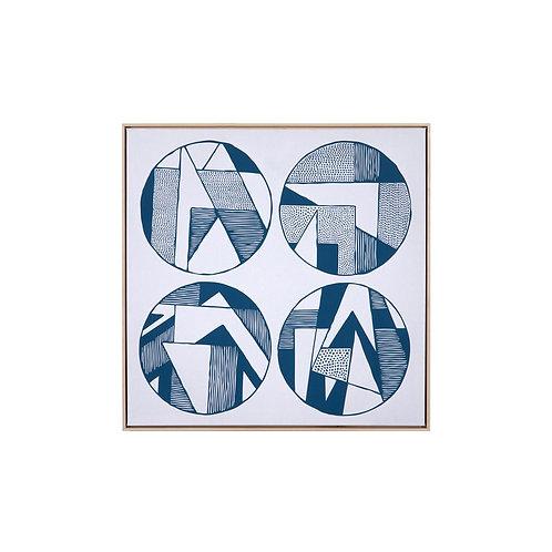 Four Circles Art by Teague Studios - 40x40