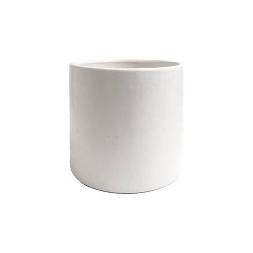 Modern White Ceramic Planter