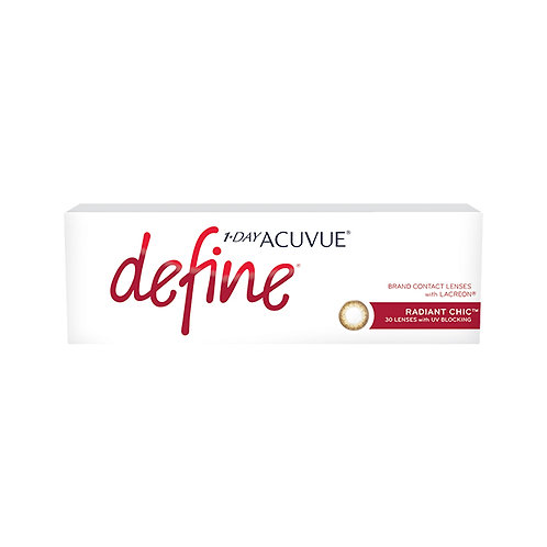 1·Day Acuvue Define - 閃鑽銅 RADIANT CHIC
