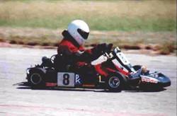 Precision Karting, NTK, Steve Murray