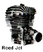 Reed Jet, Gokart Motor