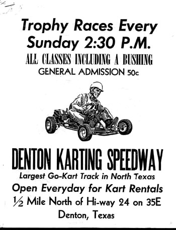 early karting trophy races 1960