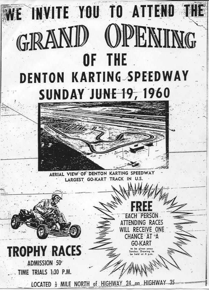 denton karting speedway grand opening
