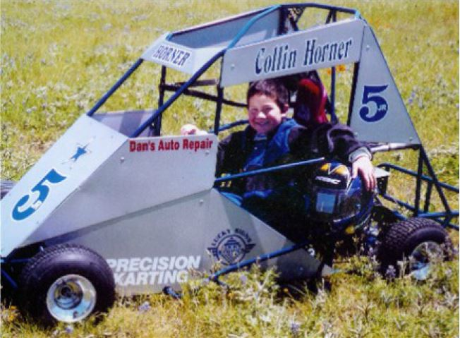 Precision Karting, Collin Horner