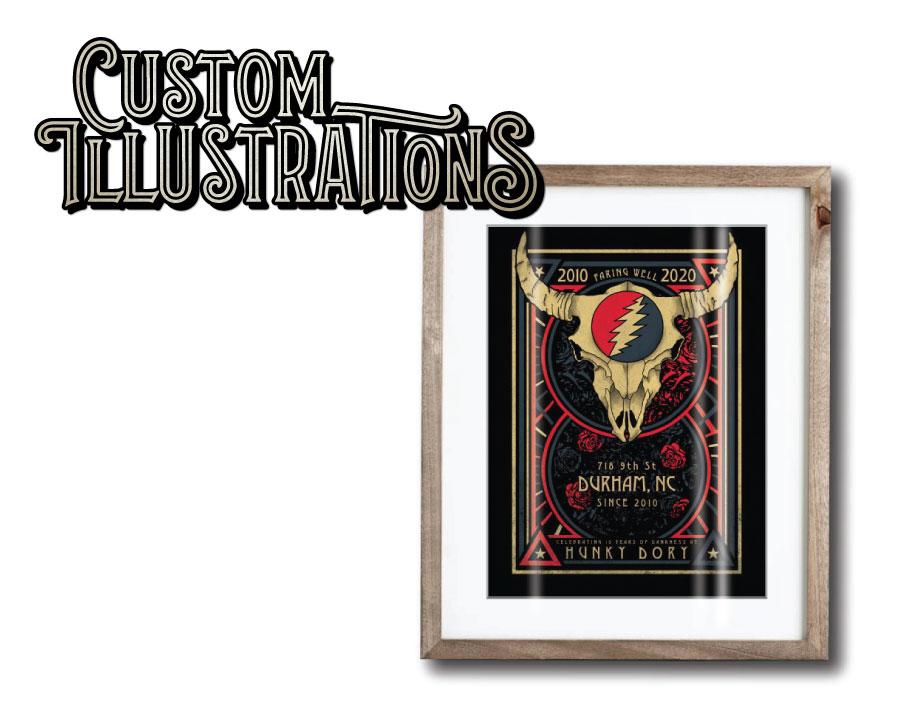 Custom-Illustrations