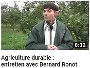 image de Bernard Ronot faisant le lien vers une vidéo YouTube expliquant le cheminement de l'agriculture chimique