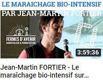 image permettant un lien vers une conférence de Jean Martin Fortier sur la chaîne ver de terre production