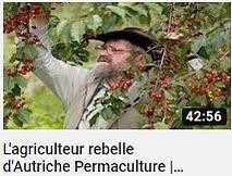image permettant un lien vers une vidéo YouTube sur Sepp Holzer un agriculteur Autrichien