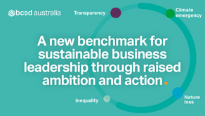 Media release: Net-zero criteria set the course to transition for Business Council for Sustainable