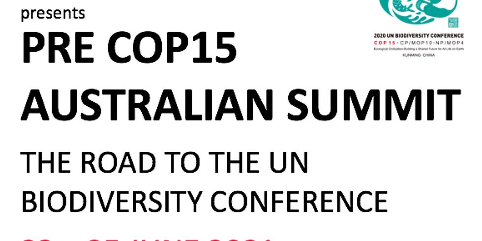 ABBI presents Pre COP Australian Summit I The Road to the UN Biodiversity Conference