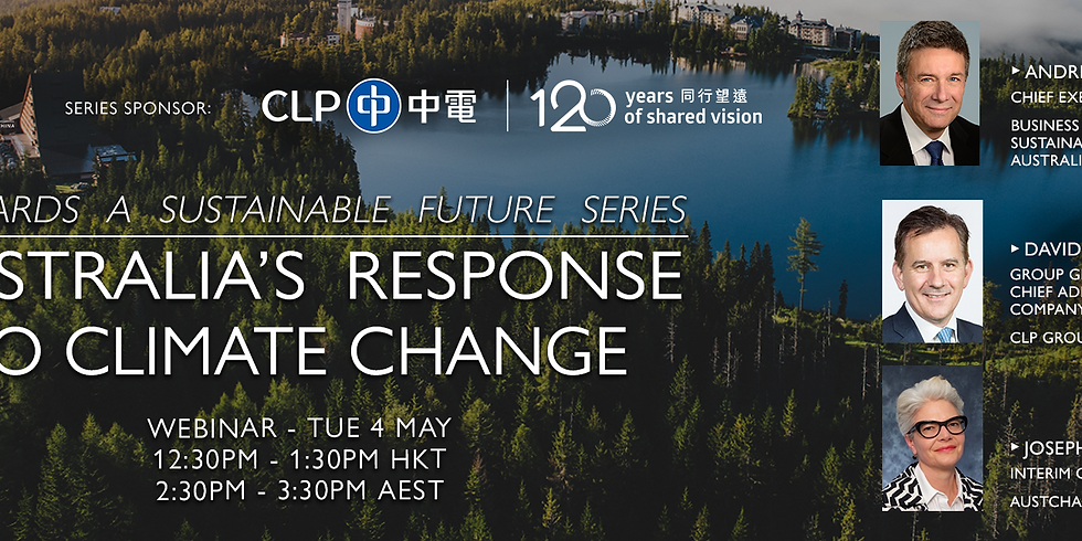 Towards a Sustainable Future Series – Australia's Response to Climate Change