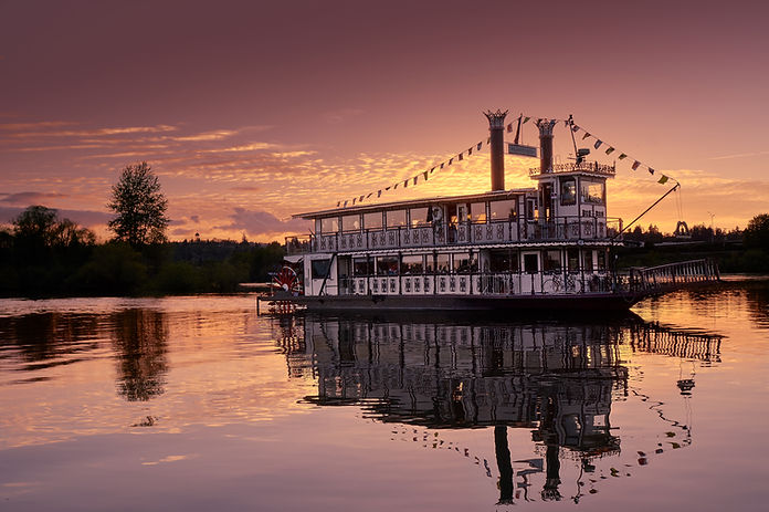 Willamette Queen orange sunset.jpg