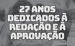 27-ANOS-DEDICADOS-A-REDAÇÃO-E-A-APROVACA