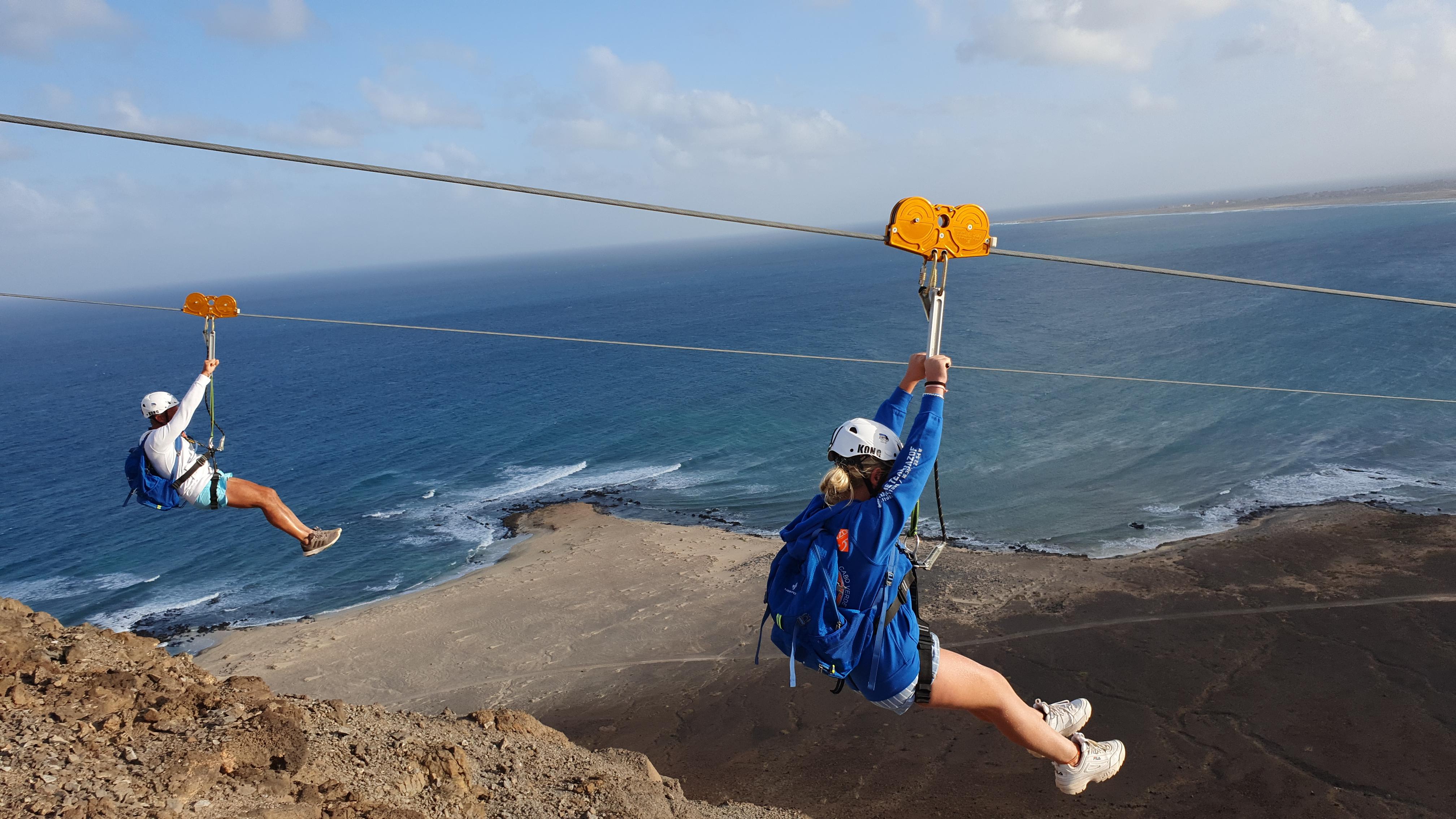 Zip Line Cabo Verde