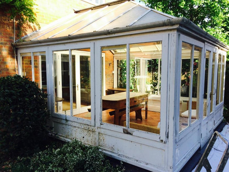 Well weathered conservatory