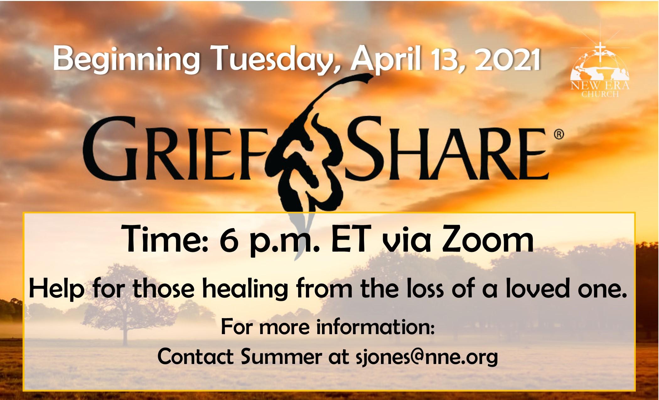 GriefShare - April 13