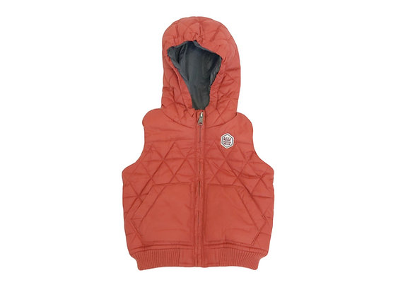 Doudoune Zara orange 12-18 mois