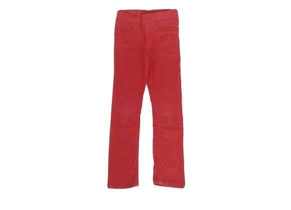 Pantalon Tape à l'oeil rouge 6 ans