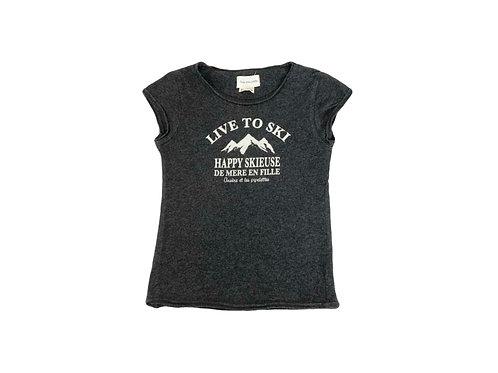 T-shirt Arsène et les Pipelettes gris 5 ans