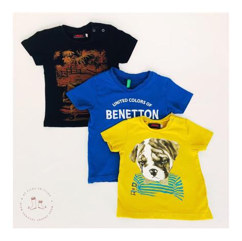 Des t-shirts hauts en couleurs