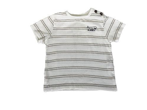 T-shirt Bout'chou beige 18 mois