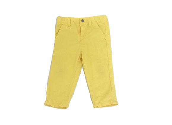 Pantalon Obaibi jaune 12 mois