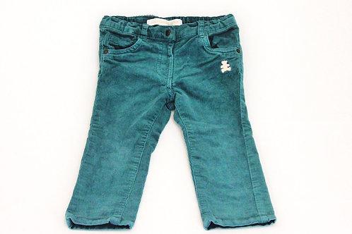 Pantalon Lulu Castagnette en velour côtelé 2 ans