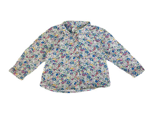 Chemise Zara fleurie 9/12 mois