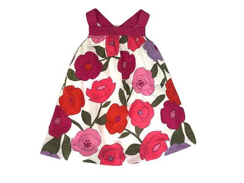 Robe à bretelles Gap  imprimé fleuri 6 mois