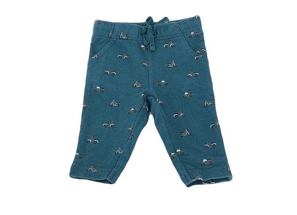 Pantalon de jogging Bout'chou vert imprimé 6 mois
