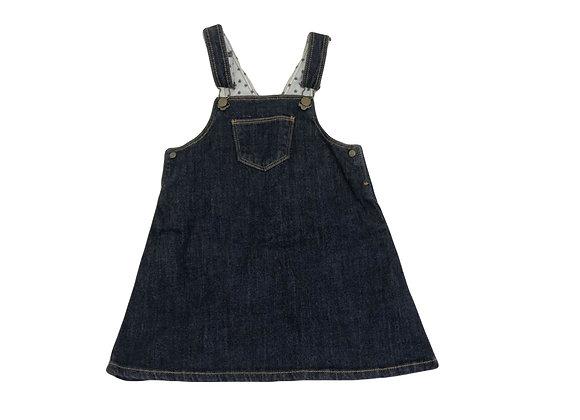 Robe Petit Bateau en jean 2 ans