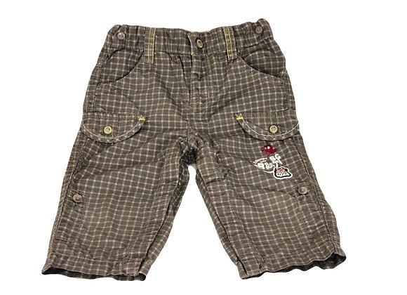Pantalon Sergent Major à carreaux 9 mois