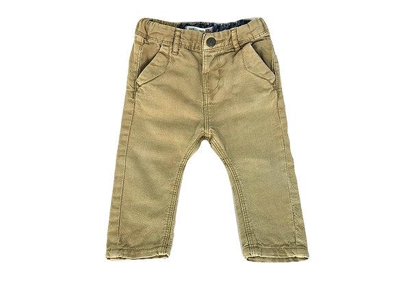 Pantalon Zara beige 6/9 mois (74cm)