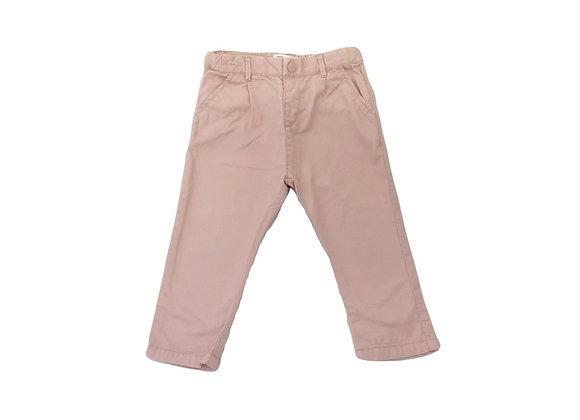 Pantalon Zara rose 12/18 mois