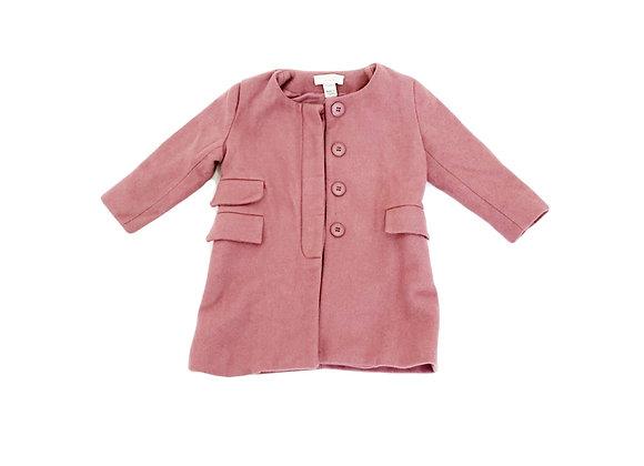 Manteau en laine Stella Mc Cartney vieux rose 2 ans
