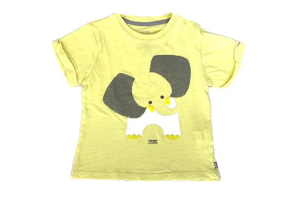 T-shirt Obaibi jaune 18 mois
